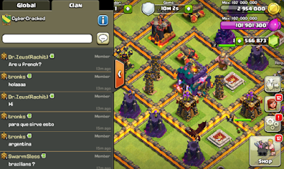 Clash Of Clans Mod/Hack Apk Update Oktober 2015-screenshot-2