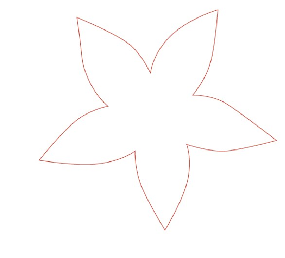 Plantillas de flores para recortar - Imagui
