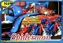 Harga Sprei Fata Spiderman Uk. 120 Jual