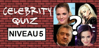 Celebrity Quiz reponse niveau 5