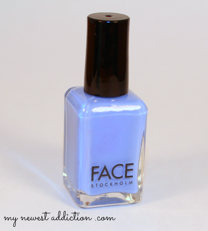 wantable january 2014 makeup subscription box nail polish face stockholm blue nailpolish
