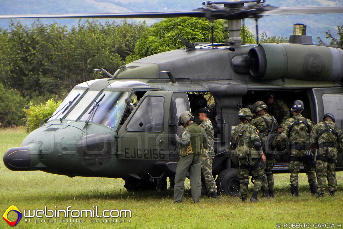 EJC2156 UH-60 Black hawk Ejercito Colombia