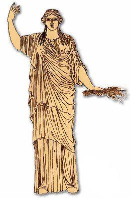demeter goddess of agriculture essay