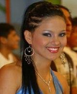 Katty García feliz y radiante