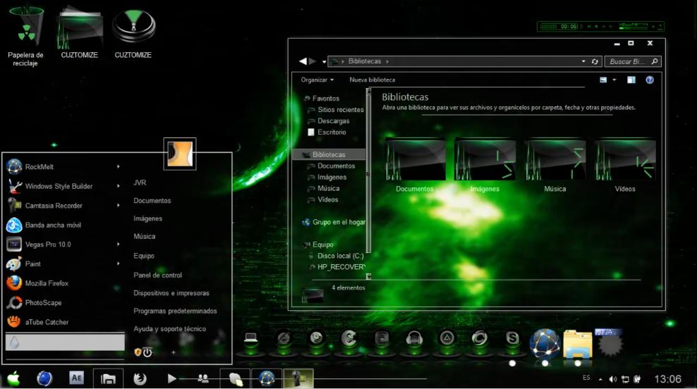 Temas para Windows 7