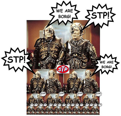 We are Borg! We are STP!