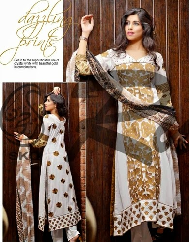 Rujhan Designer Embroidered S-S Dresses 2015