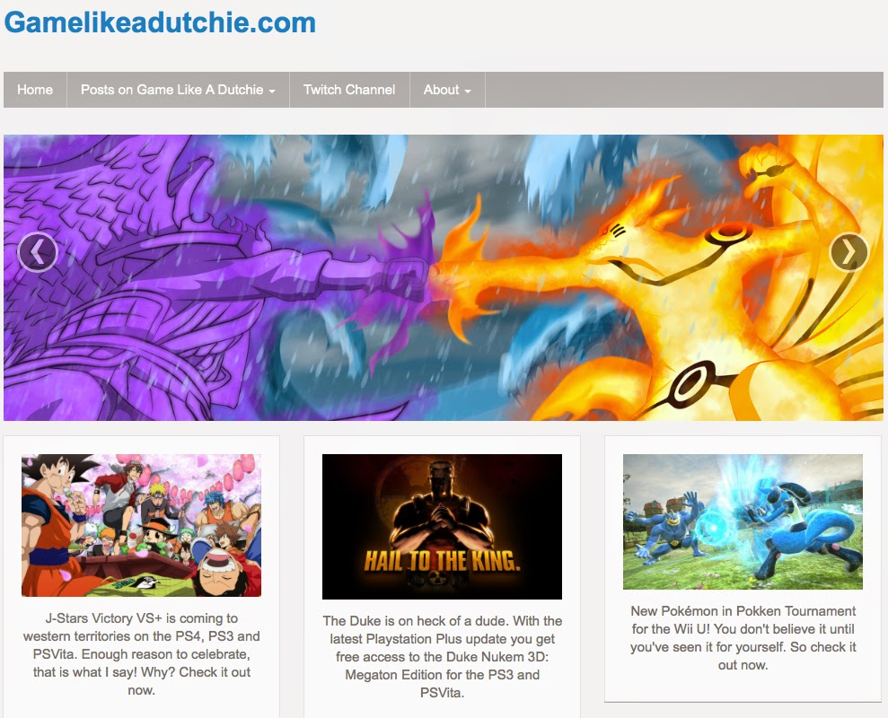 GameLikeADutchie.com