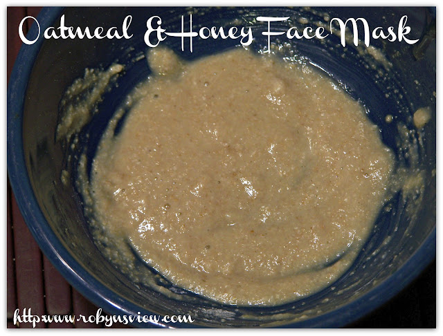 Homemade Oatmeal and Honey Face Mask