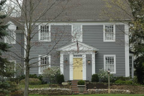Pictures of grey and black houses