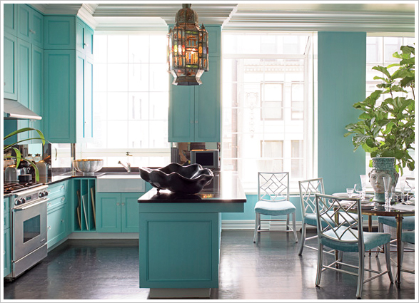 Chinoiserie Chic The Turquoise Chinoiserie Kitchen