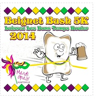 Beignet Bash 5K - Huntsville - March 1, 2014