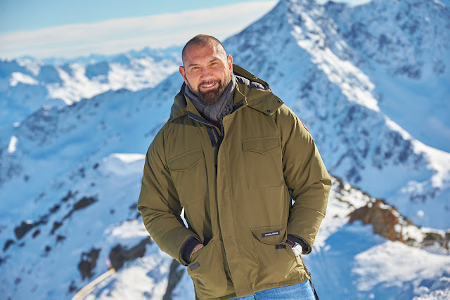 Dave Bautista commences filming SPECTRE in Solden, Austria