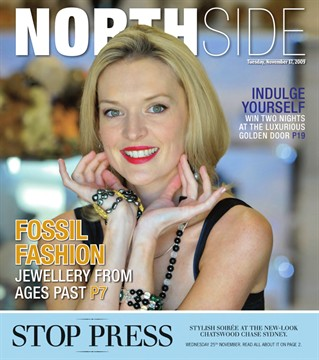 Kate Branch on the cover of Northside magazine