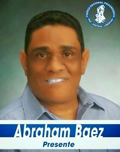 Abraham Báez, regidor!