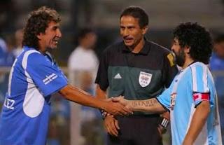 Maradona y mágico González