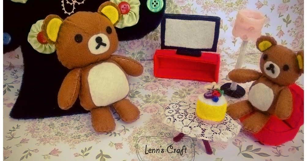 Amigurumi Doll Furniture : Lenns Craft  Handmade doll Amigurumi  : Mini Rilakkuma ...