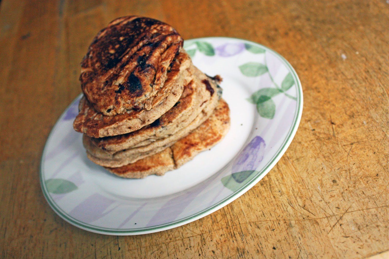 foodie fiasco whole wheat pancakes vegan