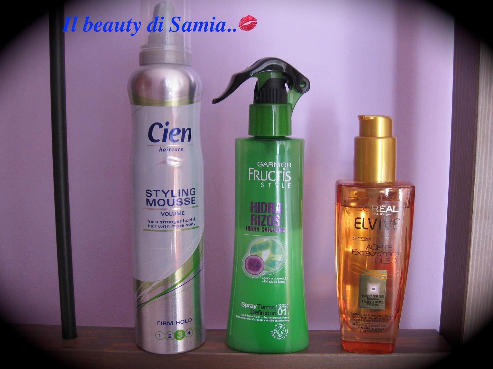 spesso Il beauty di Samía..: I miei prodotti per lo styling dei capelli PW16