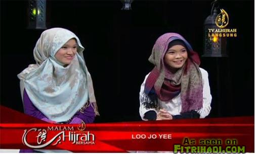 gambar video kisah loo jo yee peluk masuk islam tv al hijrah