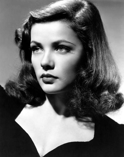 How Retro Com The Beauty Of Gene Tierney