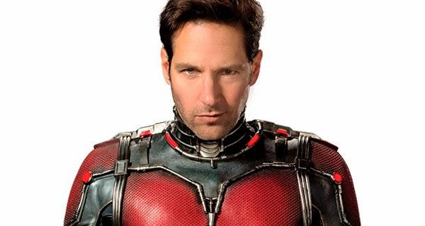 Paul Rudd como Ant-Man