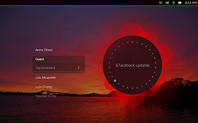 Sony Xperia Tablet Z flashed with Ubuntu Touch by Mamenyaka of XDA Forums