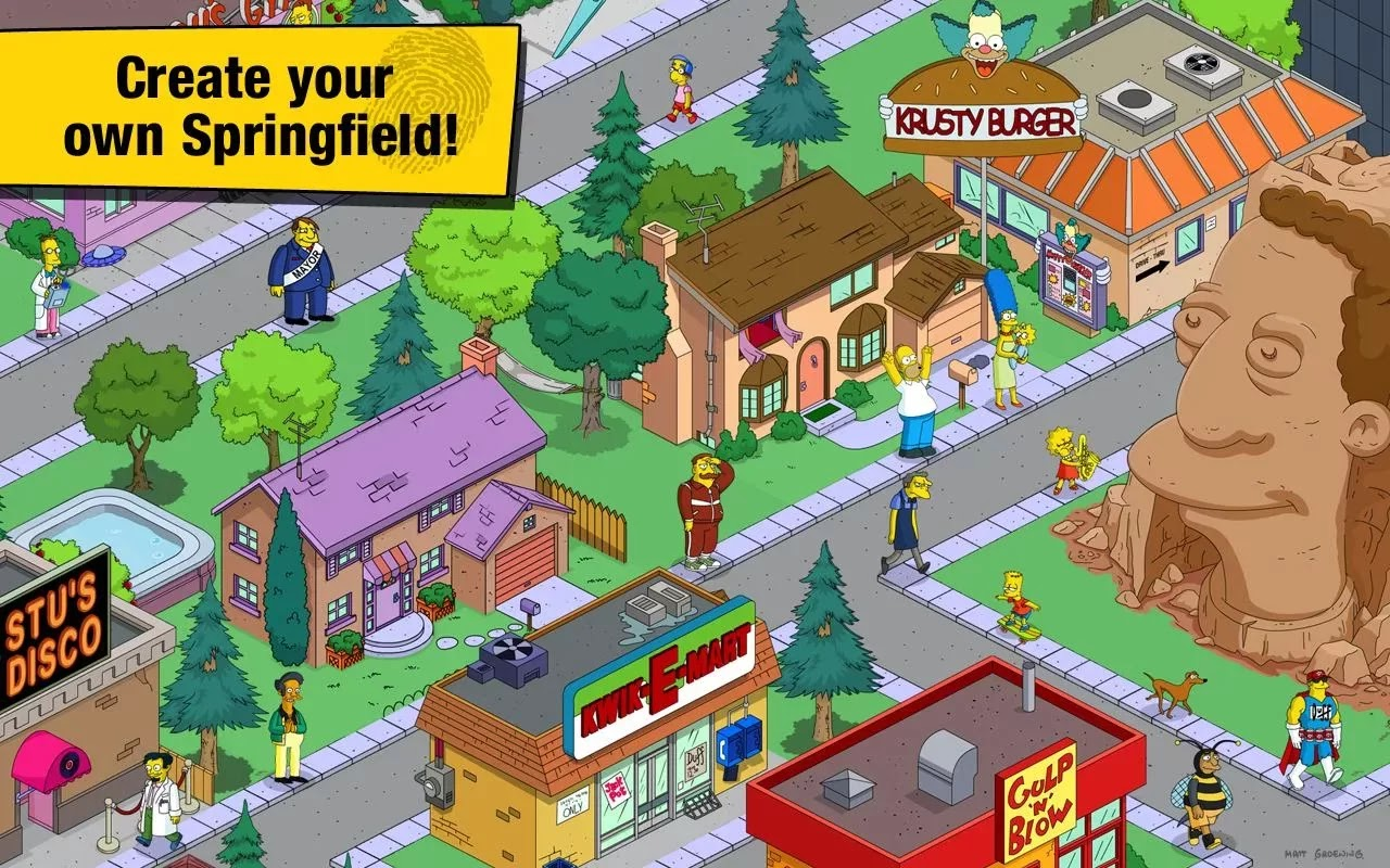 The Simpsons™: Tapped Out v4.9.4 Mod [Unlimited Money/Donuts/XP]