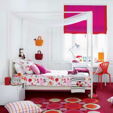 Colorfull bedroom design for small room | Bedroom design ideas