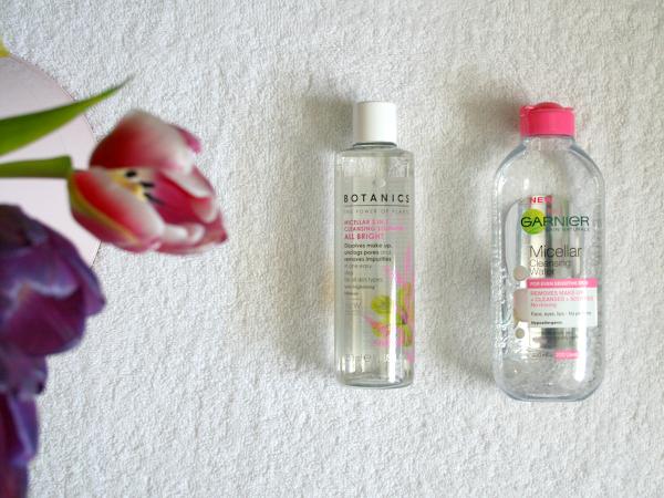 Garnier Micellar Water vs Botanics Micellar Water ♡