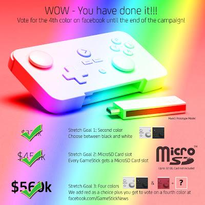 Gamestick Color Variants
