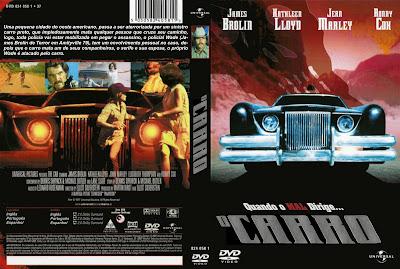 O Carro A Máquina do Diabo DVD Capa