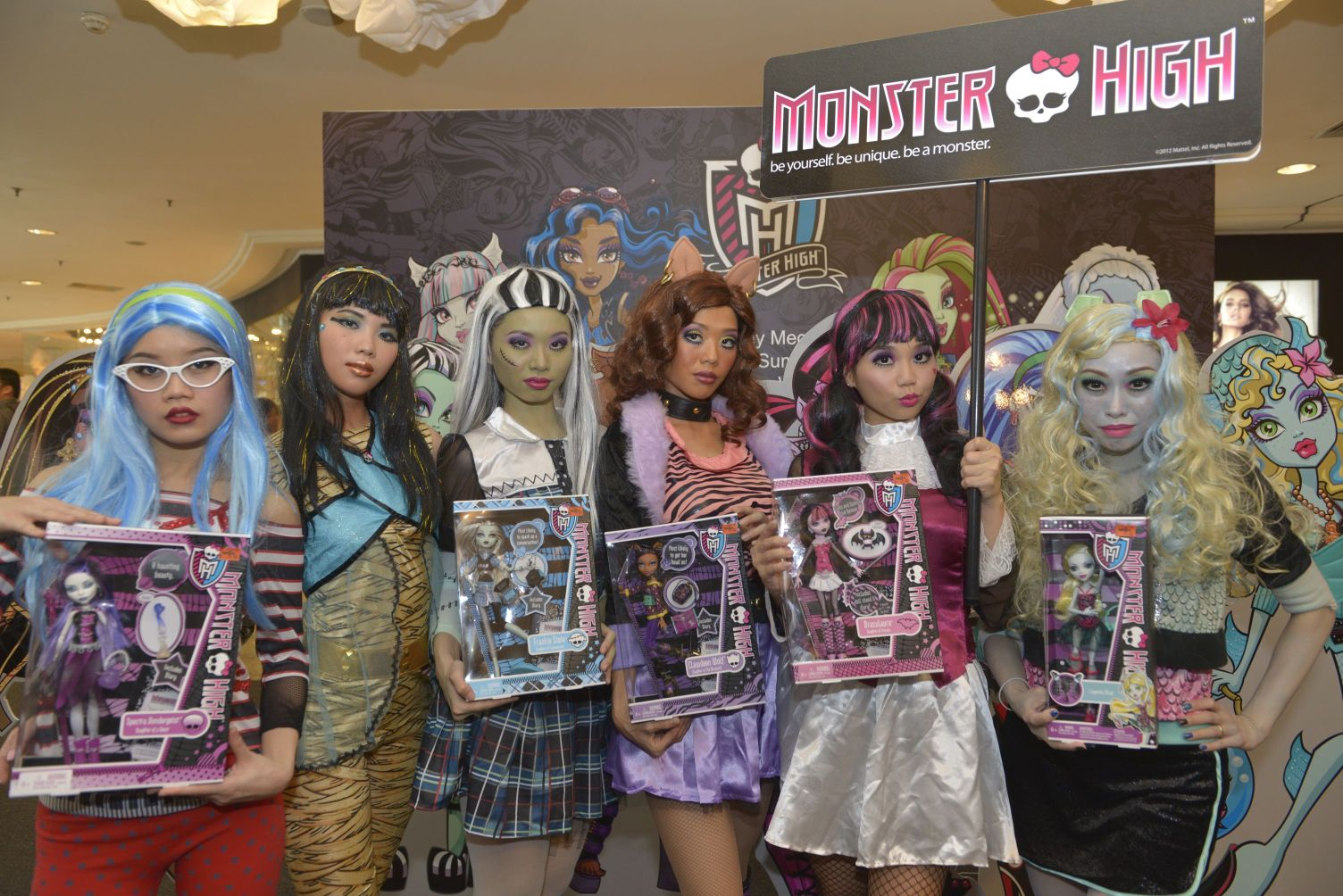 Just Norahs: Launch of Mattel's Monster High Fashion Line