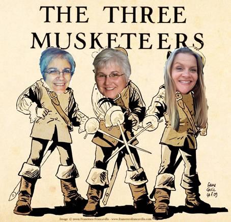 3 Musketeers!