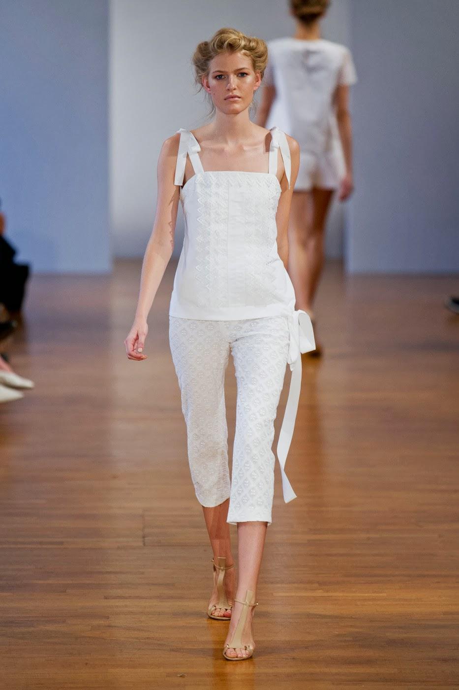 Collette dinnigan fashion show