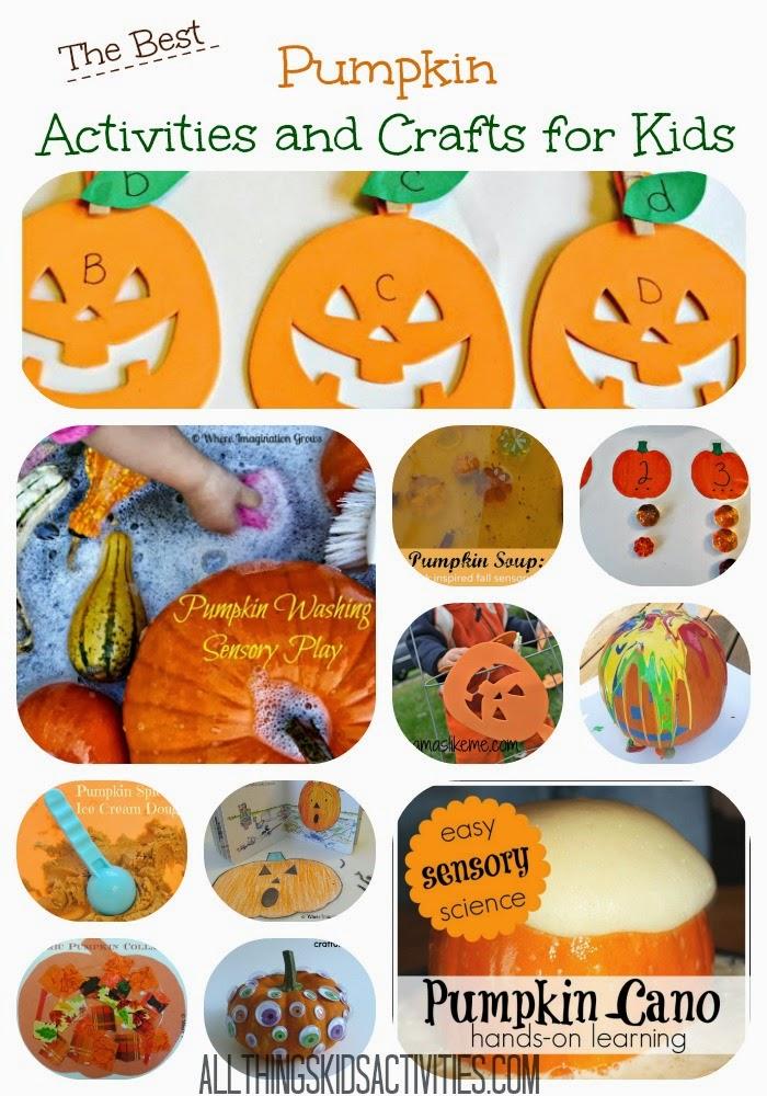 Pumpkin Activities and Crafts for Kids