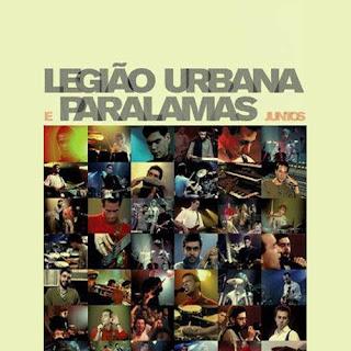 CD Legião Urbana e Paralamas Juntos CD Capa