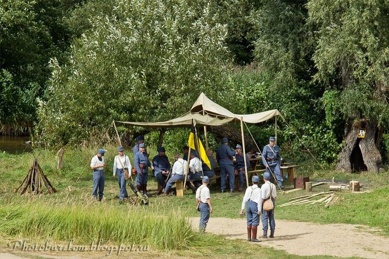 Австрийский лагерь