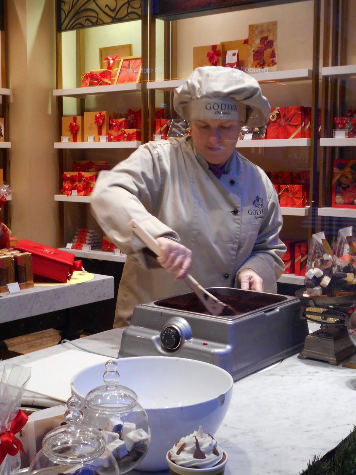 Fraises chocolat Godiva