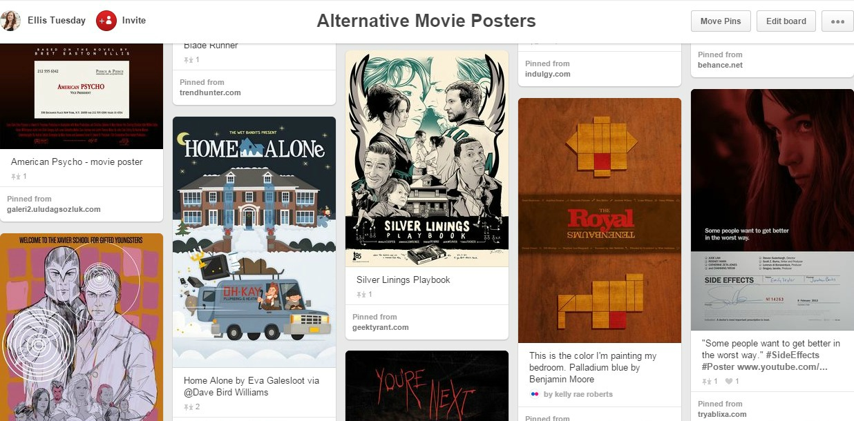 Movie Design Entertainment Pinterest
