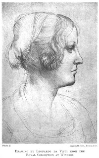 DRAWING BY LEONARDO DA VINCI FROM THE ROYAL COLLECTION AT WINDSOR