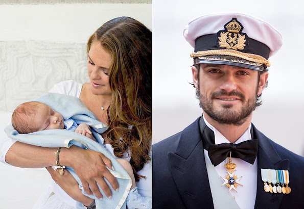 Prince Carl Philip godfather to baby Prince Nicolas baptised