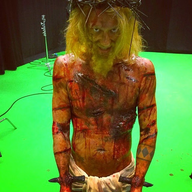 Iron Sky The Coming Race Jesus: Jukka Hilden. Make-up FX: Ari Savonen.