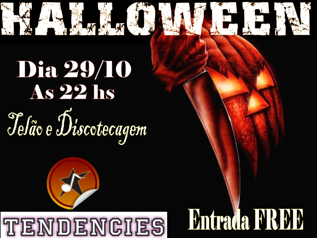 Halloween no Tendencies Music Bar