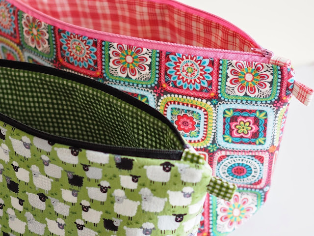 Quilted Knitting Bag Pattern : Project bag tutorial
