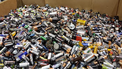 Recycle your old Batteries