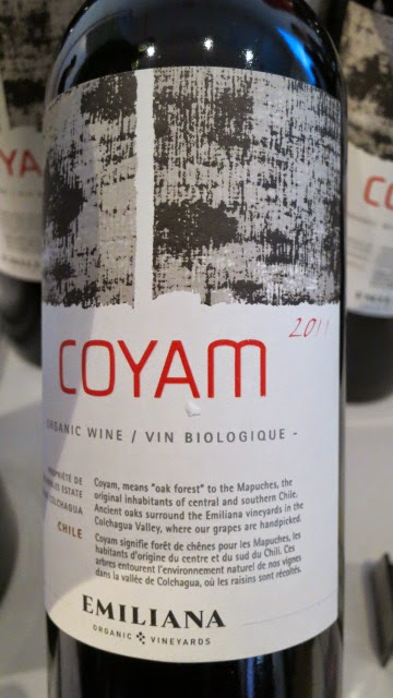 Wine Review of 2011 Emiliana Coyam from Colchagua Valley, Chile