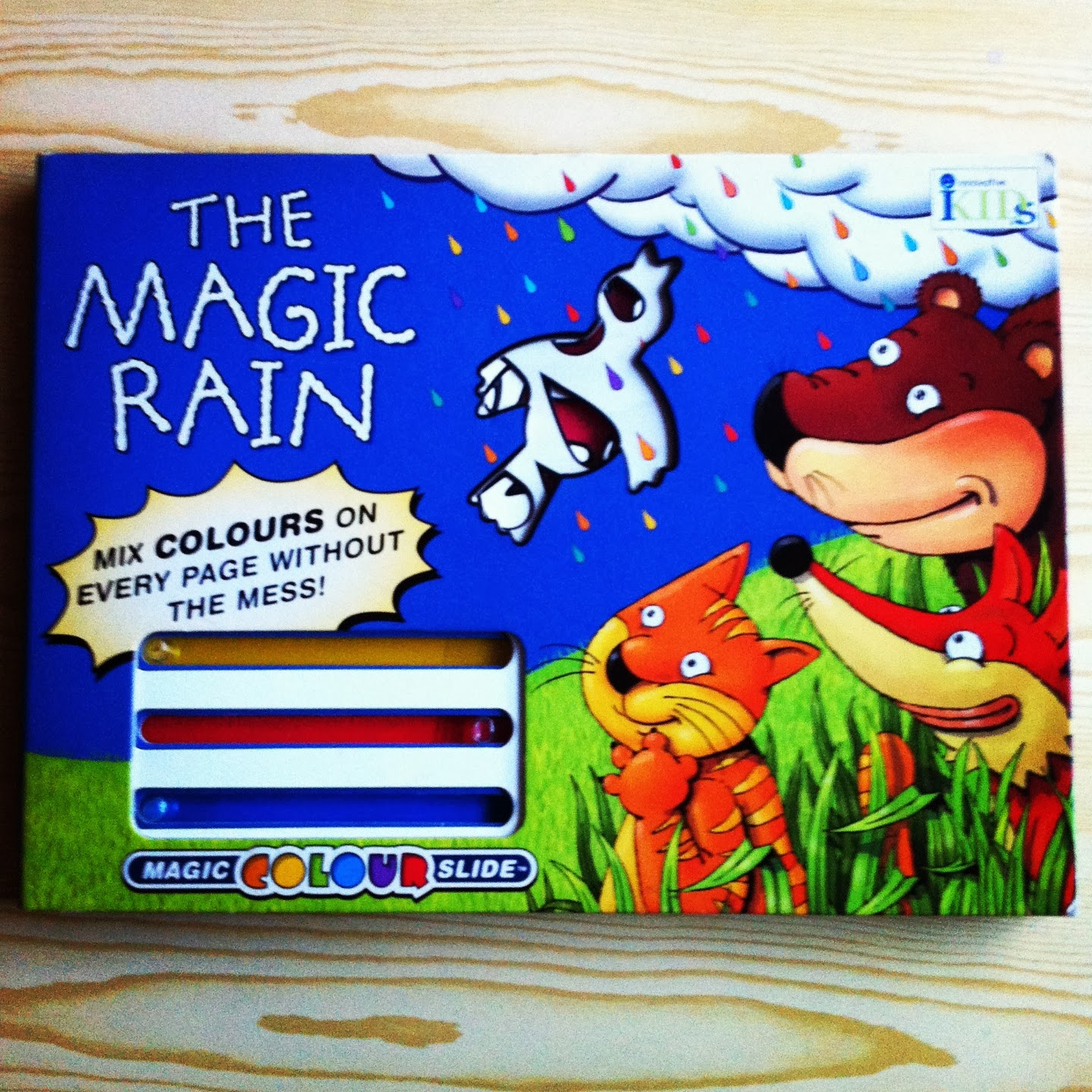 the magic rain - a book