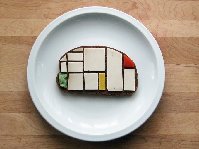 mondrian sandwich art low commitment projects