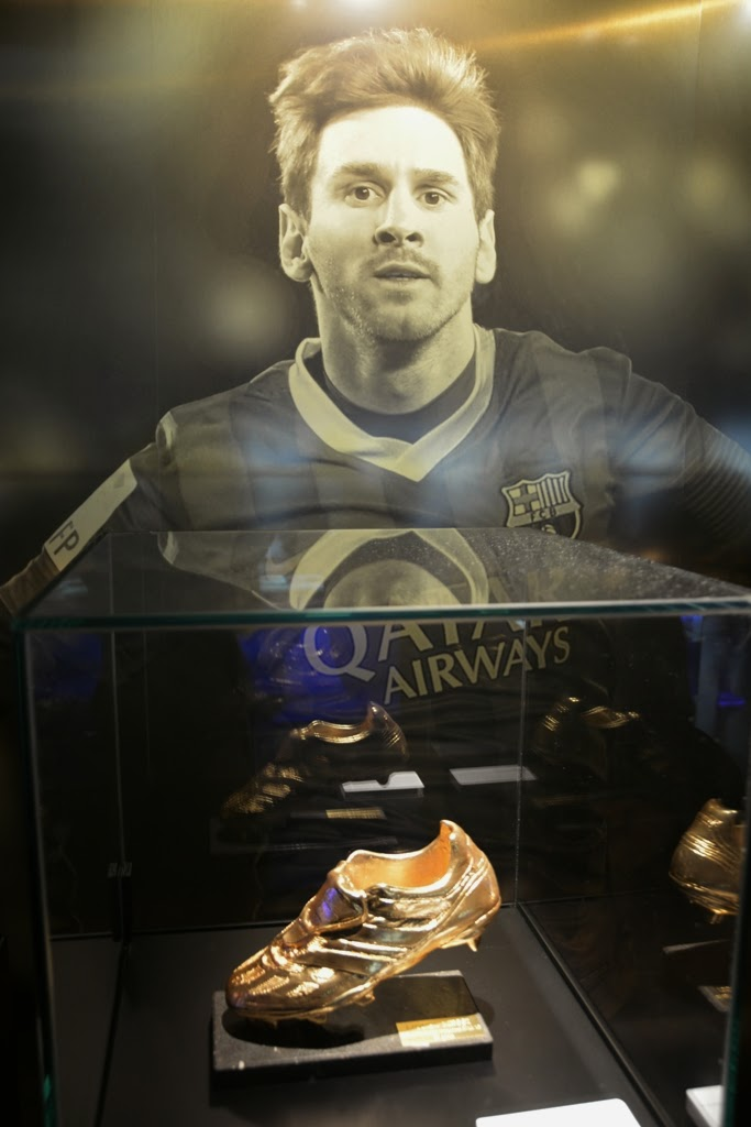 Camp Nou Barcelona Messi Golden Shoe